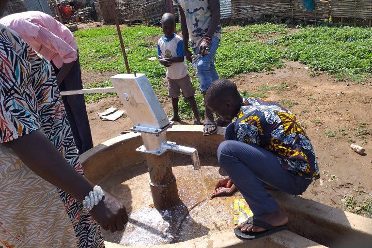 Reparaties waterputten Juba