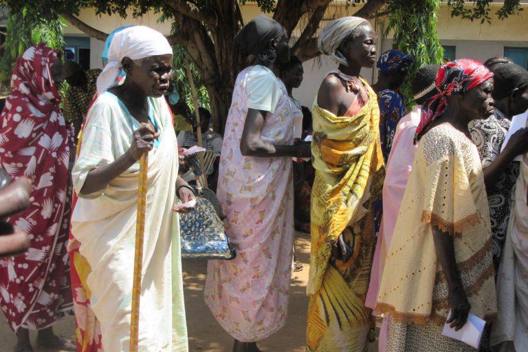 Voedseldistributie Juba